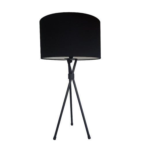 PLAIN TRIPOD TABLE LAMP 3 OPTIONS - Lighting.co.za