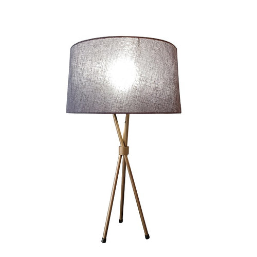 VIDA GOLD TRIPOD TABLE LAMP SET - Lighting.co.za