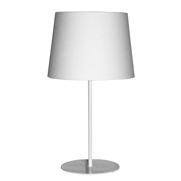 Allure Table Lamp With Shade Available In Various Colours - Lighting.co.za