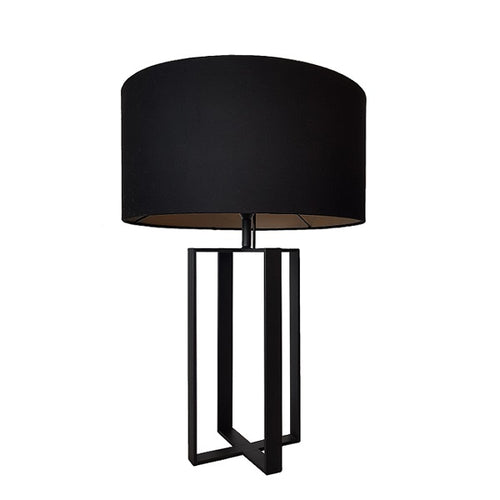 GIRAFFE QUAD BLACK TABLE LAMP SET - Lighting.co.za