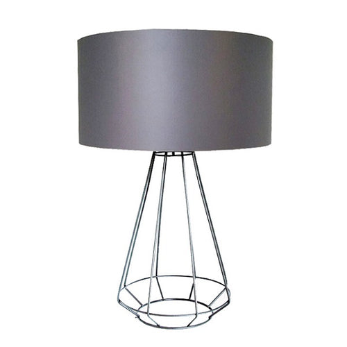 FACET WIRE GRID TABLE LAMP SET - Lighting.co.za