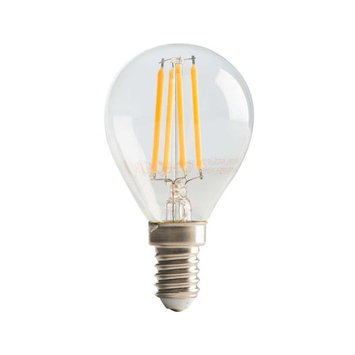 E14 G45 LED Filament Bulb 4W 2700K Dim K - Lighting.co.za