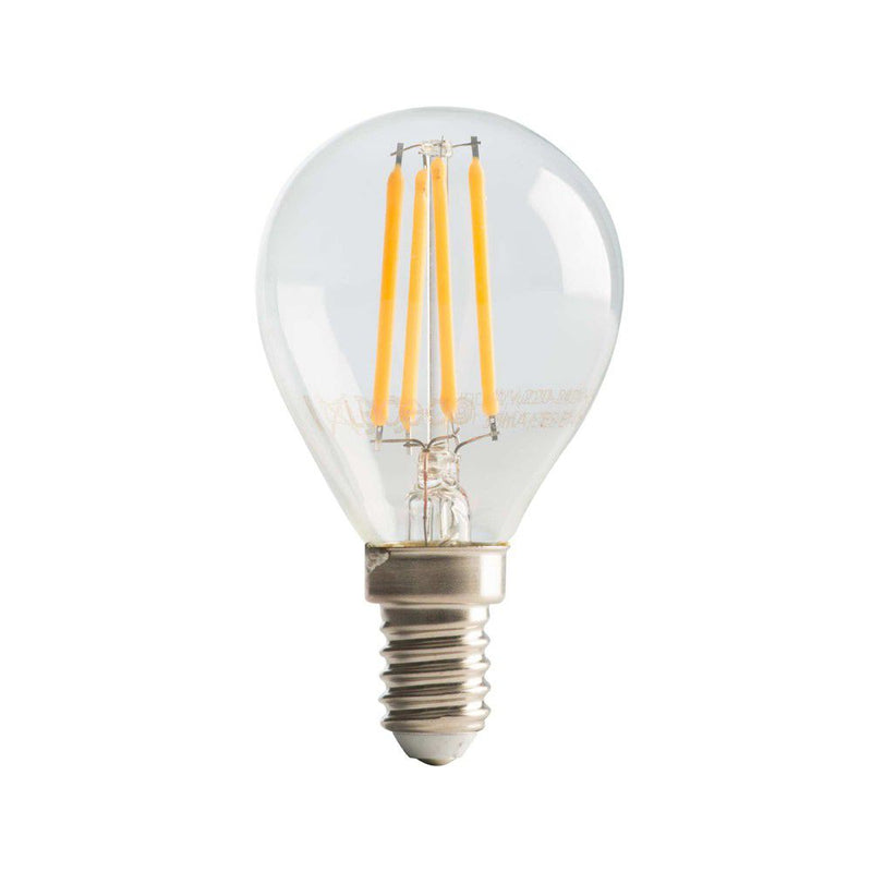 E14 G45 LED FIL BULB 4W 2700K DIM K - Lighting.co.za