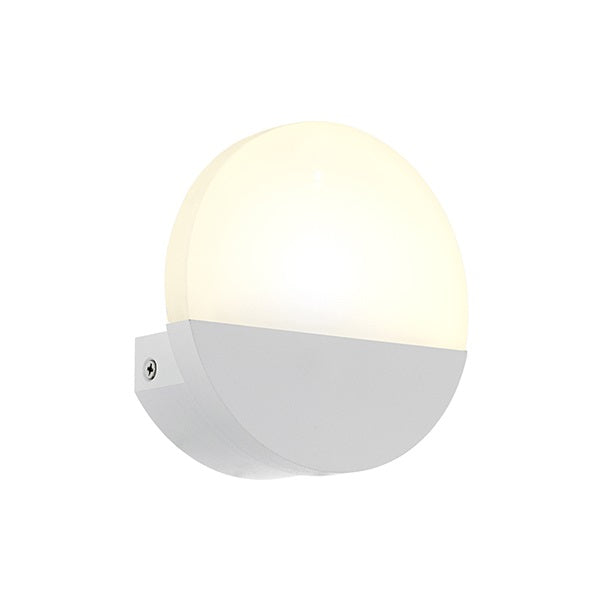 Lovo LED Metrass Round White Or Chrome Wall Light - Lighting.co.za