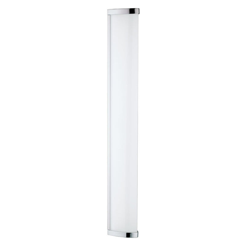 Gita Chrome And White Linear LED Bathroom Wall Light 2 Options - Lighting.co.za