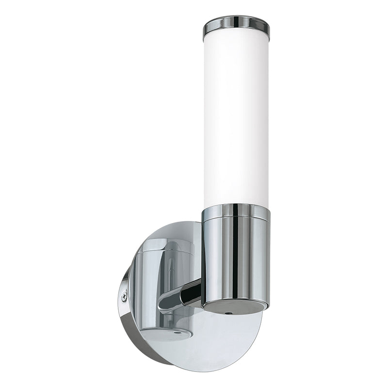 Leila Palmera Chrome 1 Light Bathroom LED Wall Light - Lighting.co.za