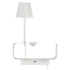 Pixi Coil Shelf LED Bedside Wall Light With USB Charger - Lighting.co.za