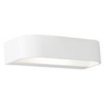 Lyon White Up Down LED Wall Light 2 Sizes - Lighting.co.za