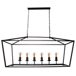 ST PALAIS RECTANGULAR RANCH 6L or 8L PENDANT - Lighting.co.za