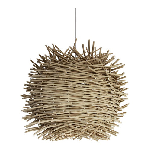 Avi Nest Woven Resin Natural Pendant Light - Lighting.co.za