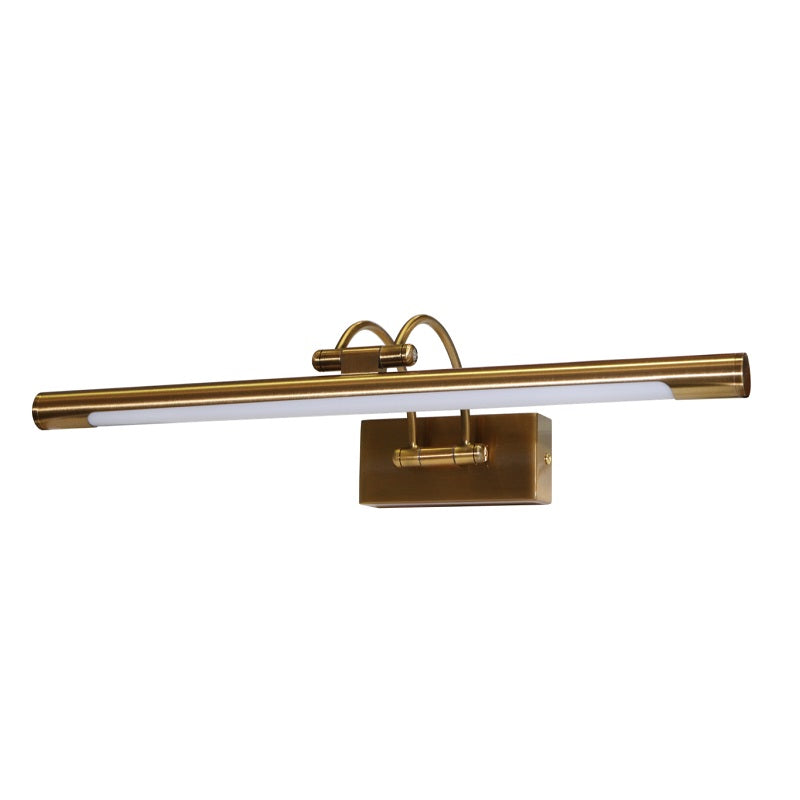 Elba Brass or Chrome 8W | 12W LED Picture Wall Light 2 Sizes - Lighting.co.za