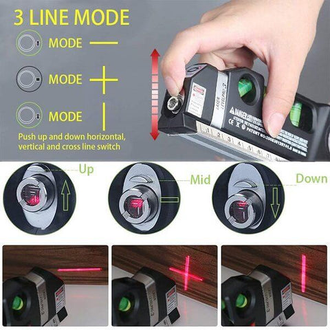 Batipo 3D Green Beam Laser Level