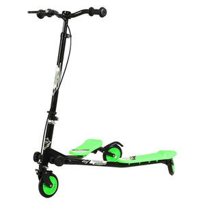 Uenjoy Kids Swing Scooter 3 Wheels Foldable Swing Car
