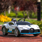 Load image into Gallery viewer, 12V Kids Ride-On Licensed Bugatti Divo with Remote Control, Colorful Lights, Music Player