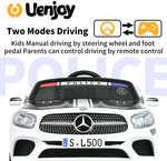 Load image into Gallery viewer, 12V Kids Licensed Ride On Mercedes-Benz SL500 with Remote Control, Colorful Lights, Music Player