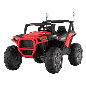 Uenjoy 12V Electric Ride on Cars, Realistic Off-Road UTV, 2 Seats