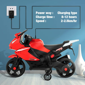 Uenjoy Kids Ride On Motorcycle 6V Electric Battery Powered Motorbike for Kids