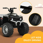 Load image into Gallery viewer, 12V Kids Ride-On ATV with Bluetooth, Colorful Lights, Music Player
