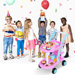 Load image into Gallery viewer, Uenjoy Play Birthday Cake Pretend Play Food Sets for Kids
