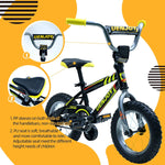 Load image into Gallery viewer, Uenjoy 12 inch  Kids Bike, with Detachable Training Wheels, Boys Girls Bicycle, Easy to assemble
