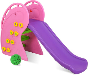 Uenjoy Kids Climber Slide Toddler, Freestanding Slide Playset