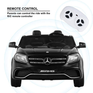 Uenjoy 2 Seater 12V Licensed Mercedes-Benz GLS63 AMG Kids Ride On Car