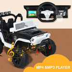Load image into Gallery viewer, Uenjoy 12V Deluxe Model Large Kids Ride on Car,  2 Seats Battery Powered Motorized Truck, Baked Paint, with MP4 Function, Remote Control, Bluetooth