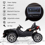 Load image into Gallery viewer, Uenjoy 2 Seats Kids Car 12V Ride On Racer Cars Battery Operated 5 Colors