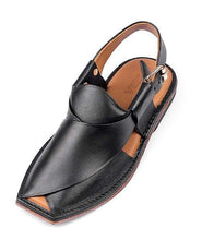 Load image into Gallery viewer, Black Leather Sole