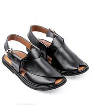 Load image into Gallery viewer, round shape Peshawari Chappal for men