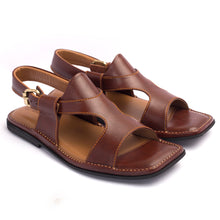 Load image into Gallery viewer, Burgundy Panjedar Chappal