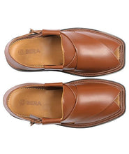 Load image into Gallery viewer, brown traditional Peshawari Chappal specially design for men