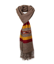 Load image into Gallery viewer, Dark Brown Scarf for men