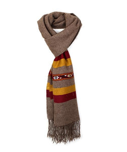 Dark Brown Scarf for men