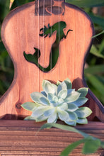 Load image into Gallery viewer, Mermaid ukulele planter