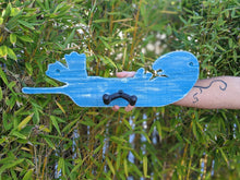 Load image into Gallery viewer, Otter Ukulele hanger Guitar hanger Instrument holder Ukulele holder Guitar holder Musician Gift for Musicians Handmade wooden instrument hanger