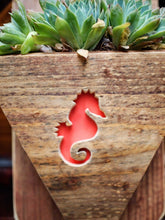 Load image into Gallery viewer, Beach decor planter - Seahorse