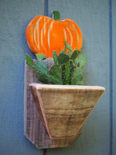 Load image into Gallery viewer, Succulent pumpkin planter