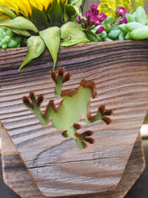 Load image into Gallery viewer, Frog Succulent planter
