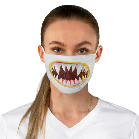 Scary Zombie Teeth Out Face Mask