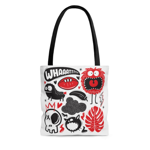 Monster Madness (What Nope) Tote Bag