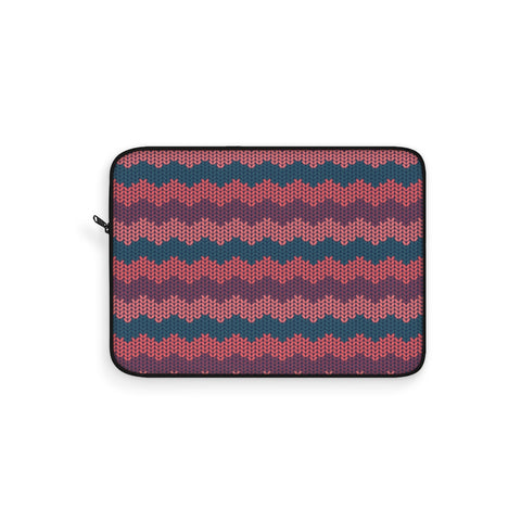 Knit Coral Laptop Sleeve
