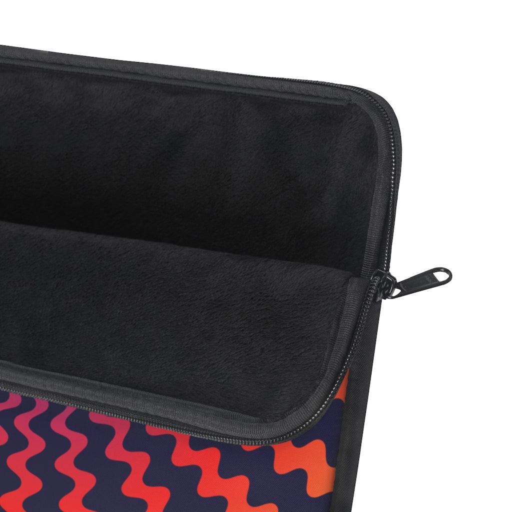 Spiral Wave Vortex Laptop Sleeve