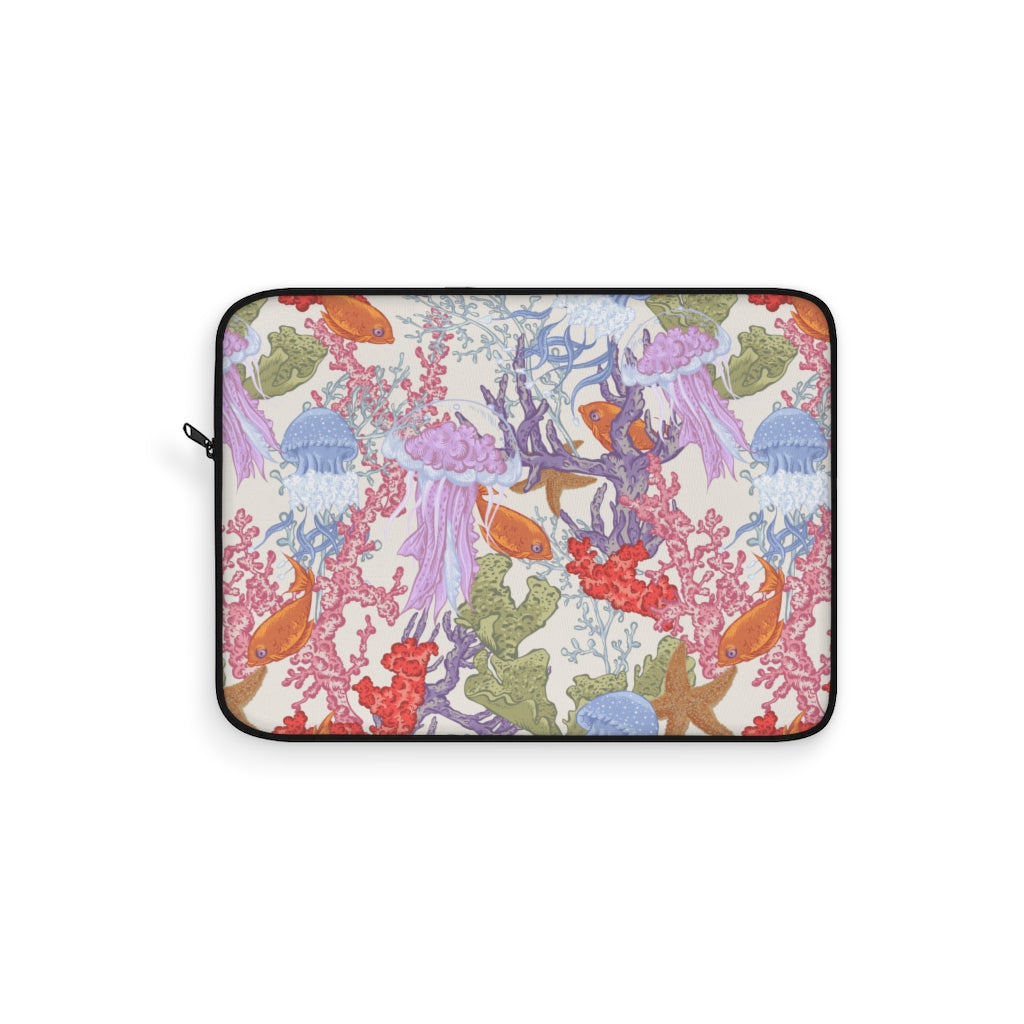 Aquatic Life Fire Laptop Sleeve