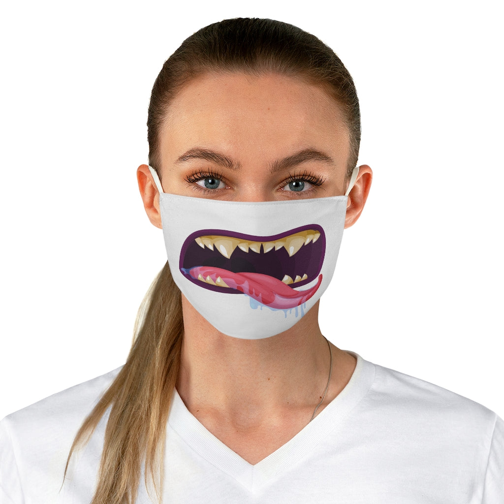 Scary Tongue Out Face Mask