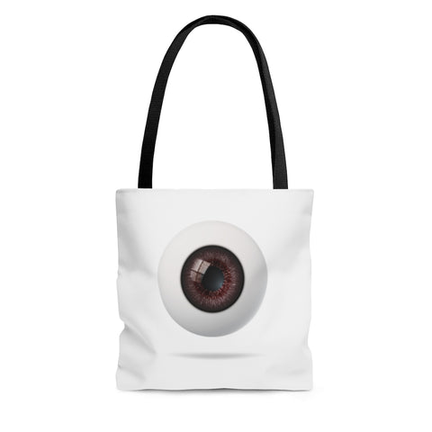 The Third Eyeball (Brown Green) Tote Bag