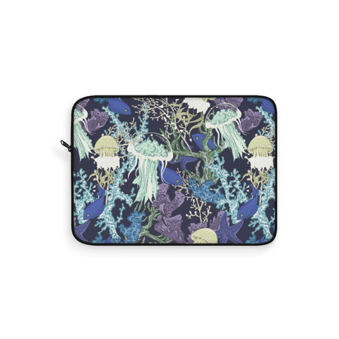 Aquatic Life Night Laptop Sleeve