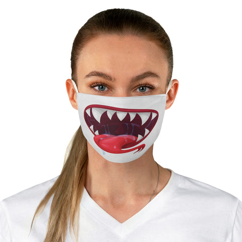 Scary Zombie Tongue Out Face Mask