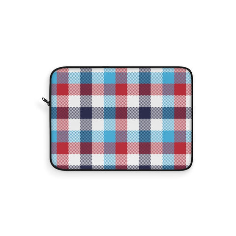 Tartan Blue Laptop Sleeve