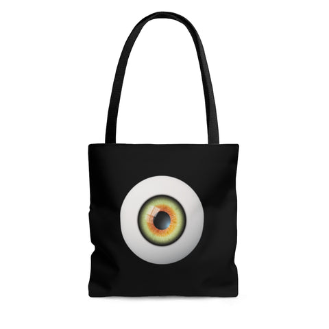 The Third Eyeball (Green Blue) Tote Bag